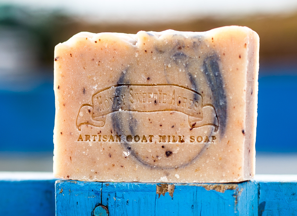 Blueberry Goat Milk Soap Botanical