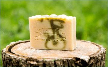 balsam pine goat milk soap