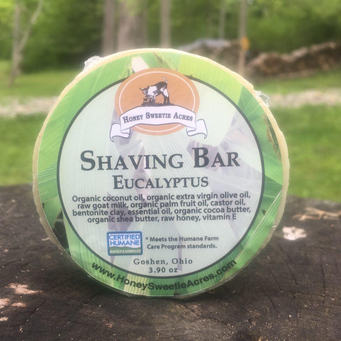 Eucalyptus Shave Bar