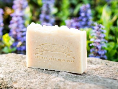 honey oatmeal unscented goat milk soap