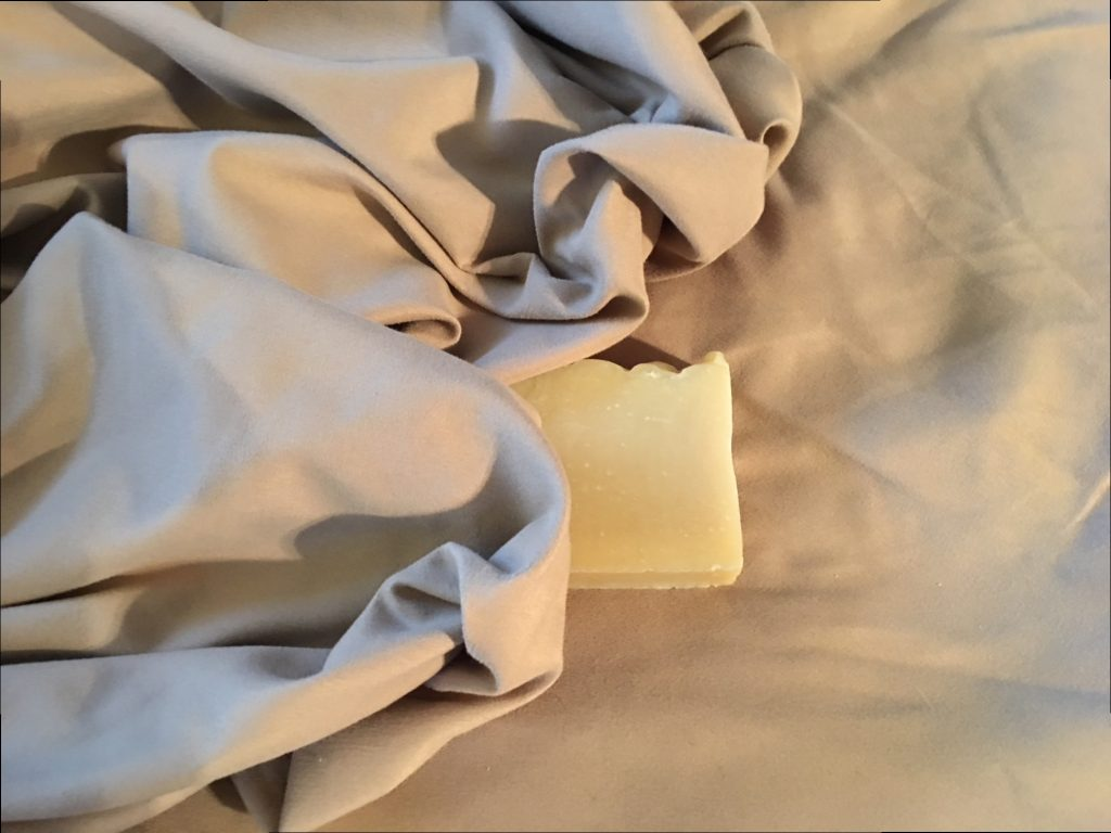 soap under the sheets