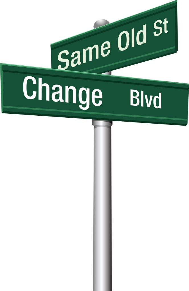 Same Old - Change Sign